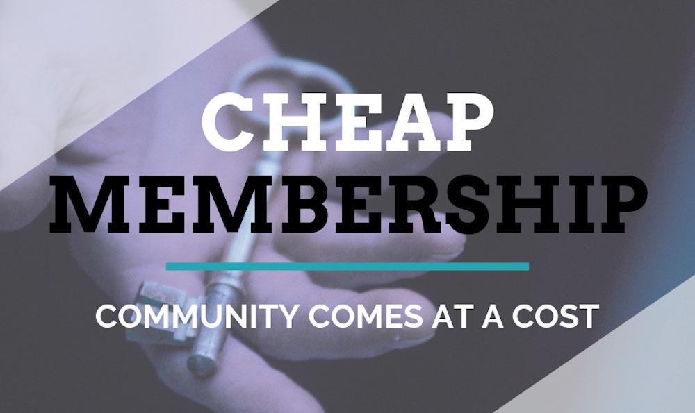 Cheap Membership