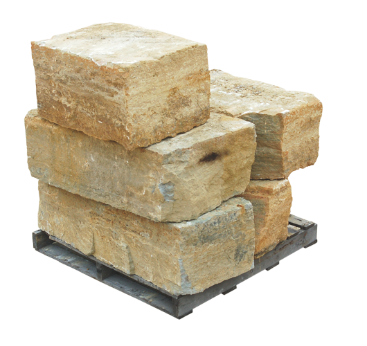 Rustic Buff Chunks