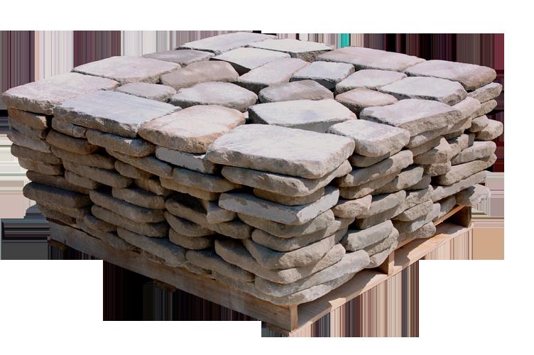 Tumbled Indiana Limestone