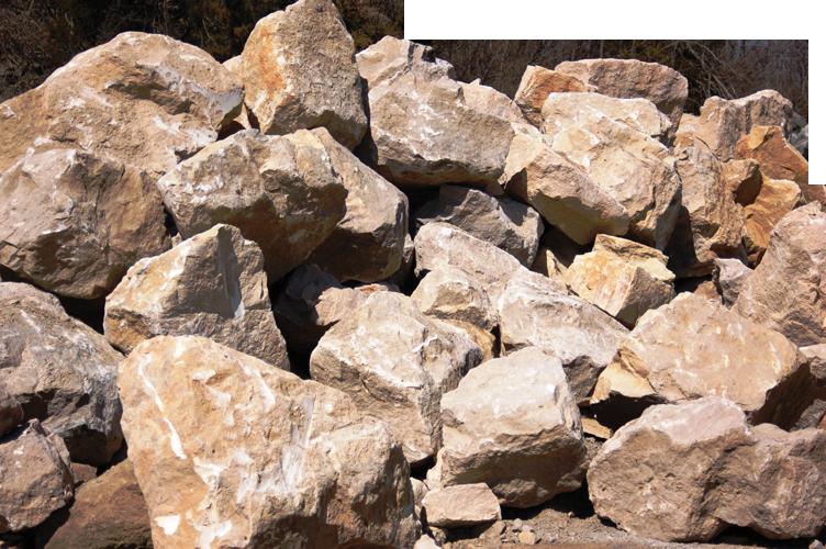 Brown Buff Boulders