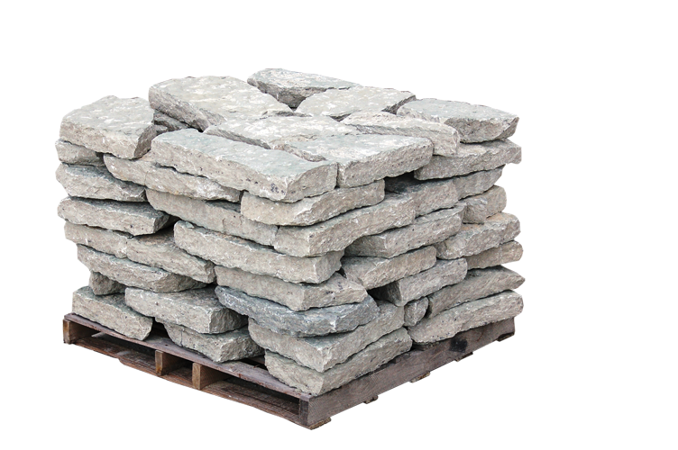 Canyon Gray Select Wall Stone Thick 3``