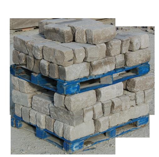 Tumbled Indiana Limestone Edging