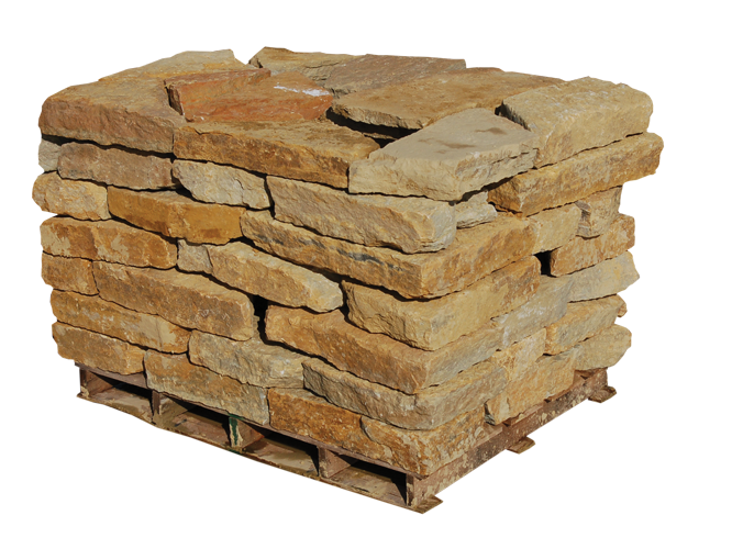 Rustic Buff Wall Stone