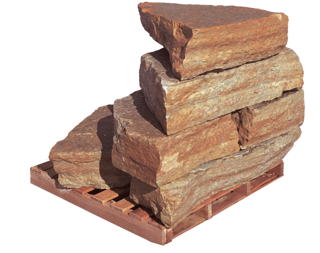 Rustic Buff Outcroppings