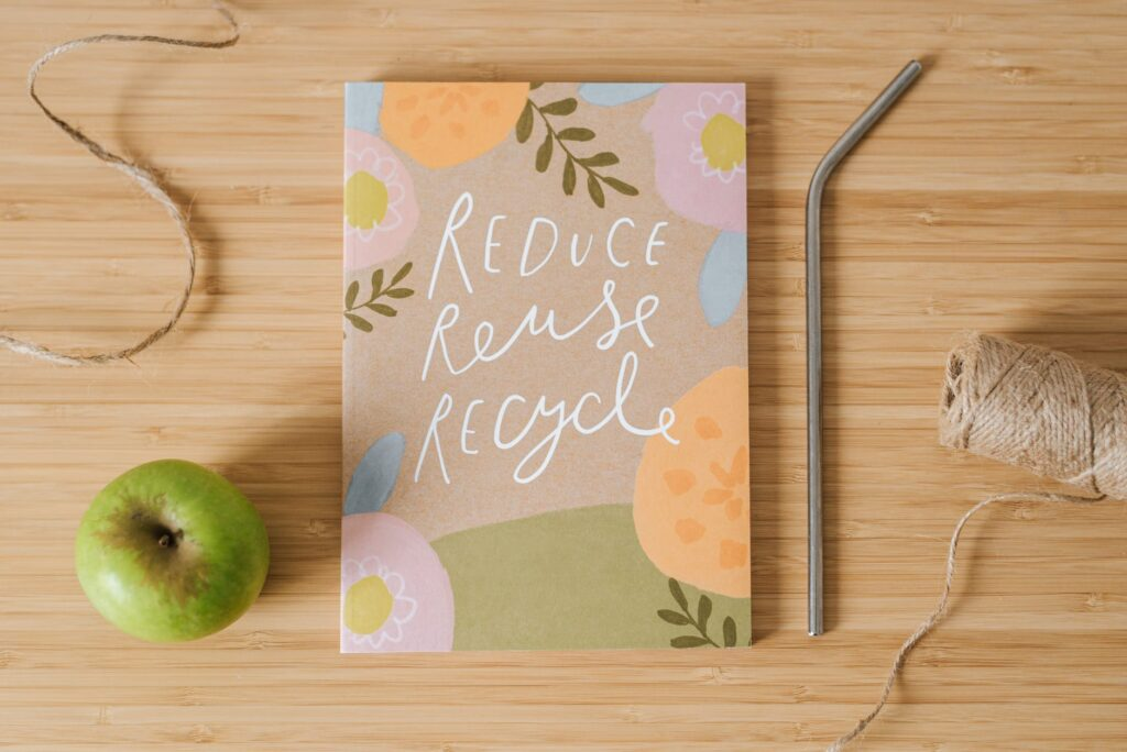 cover of reduce, recycle and reuse