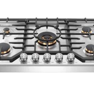 ROBAM G515 – 36″ Gas Cooktop Stove (5 Burners)
