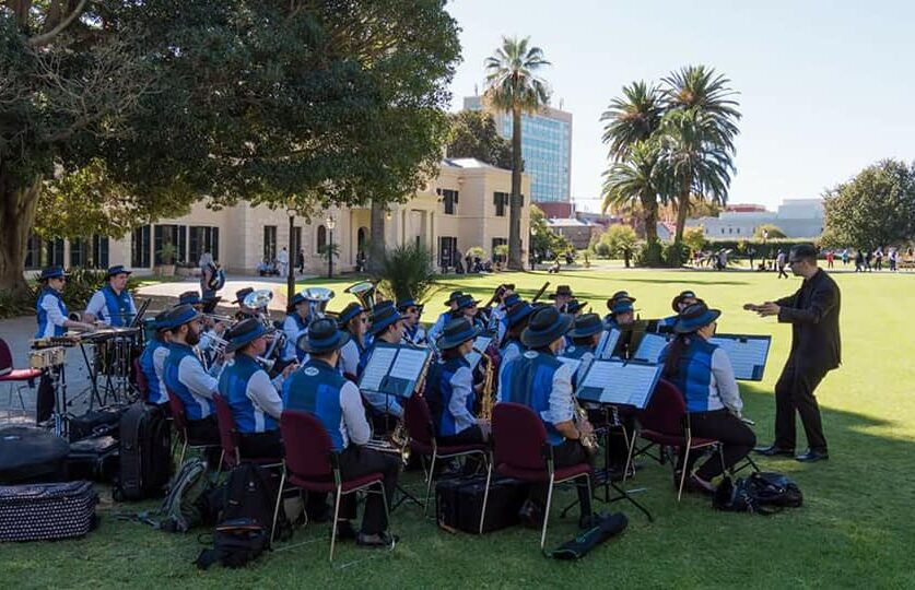 Unley Concert Band - Government House Open Day 2018