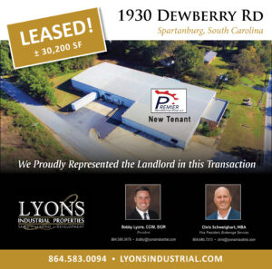 Lyons Industrial Leases 30,200 SF to Premier Manufacturing