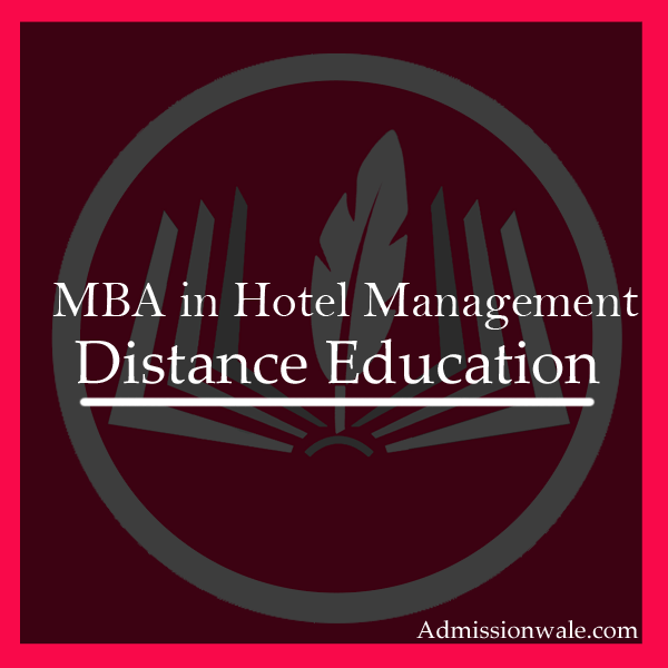 Distance MBA in Hotel Management