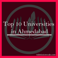 Top 10 Universities in Ahmedabad