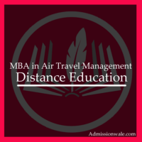 Distance MBA in Air Travel Management