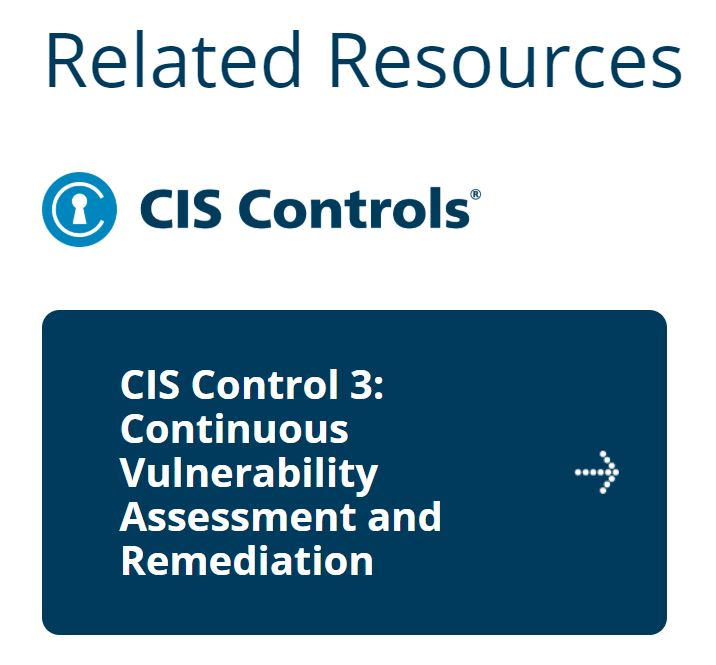 MS ISAC Related Resource CIS Control3