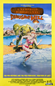 A Nymphoid Barbarian in Dinosaur Hell (1990)