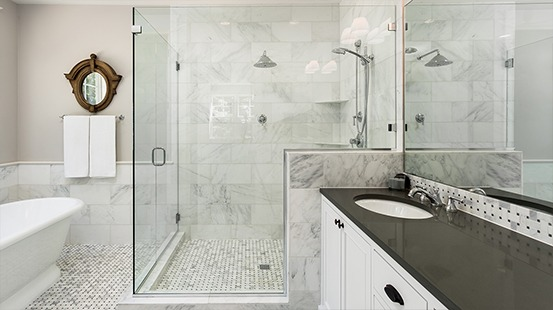Artmill Group specializes in the design, fabrication, and installation of custom shower doors & enclosures in Chicago. Contact us for a free consultation.