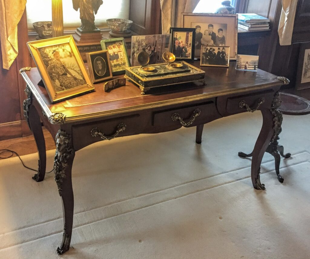 Louis XVI Style Antique Desk