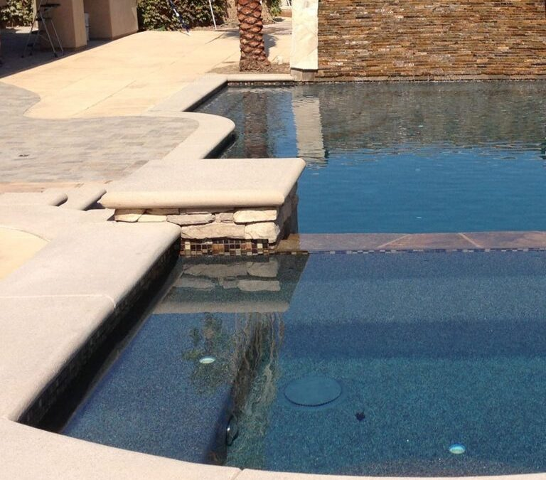 What options do I have for coping around my pool?