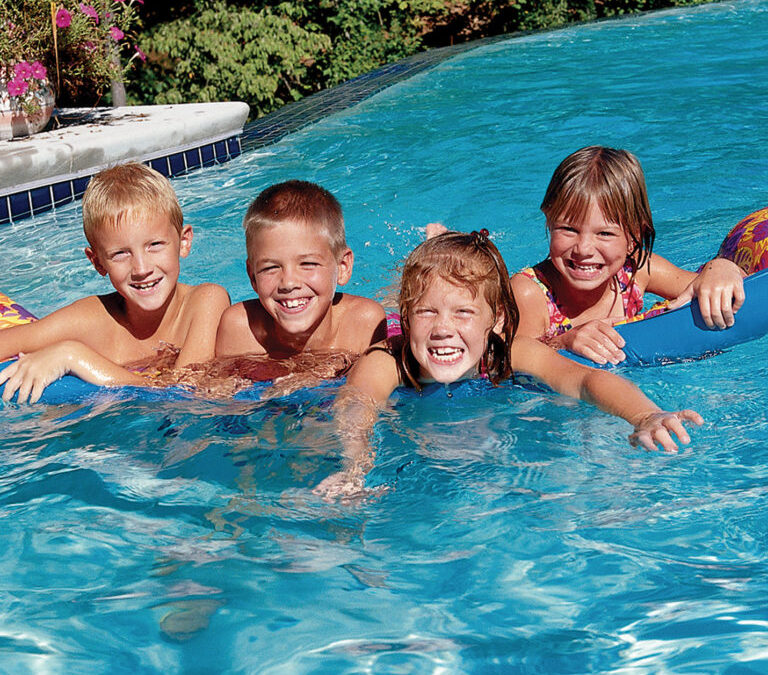 What are the benefits of owning a swimming pool?