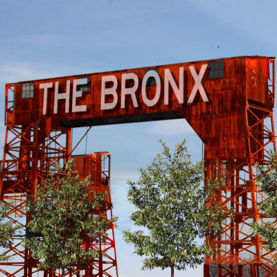 This is an image of The Bronx Gantry