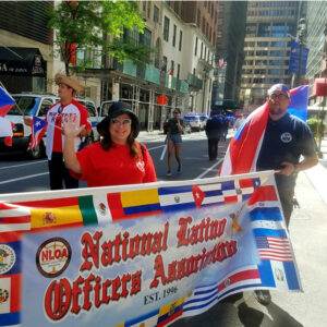 Image of Ruth at the Puerto Rican Day Parade 2019