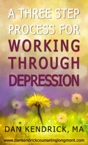 A Three Step Process For Working Through Depression