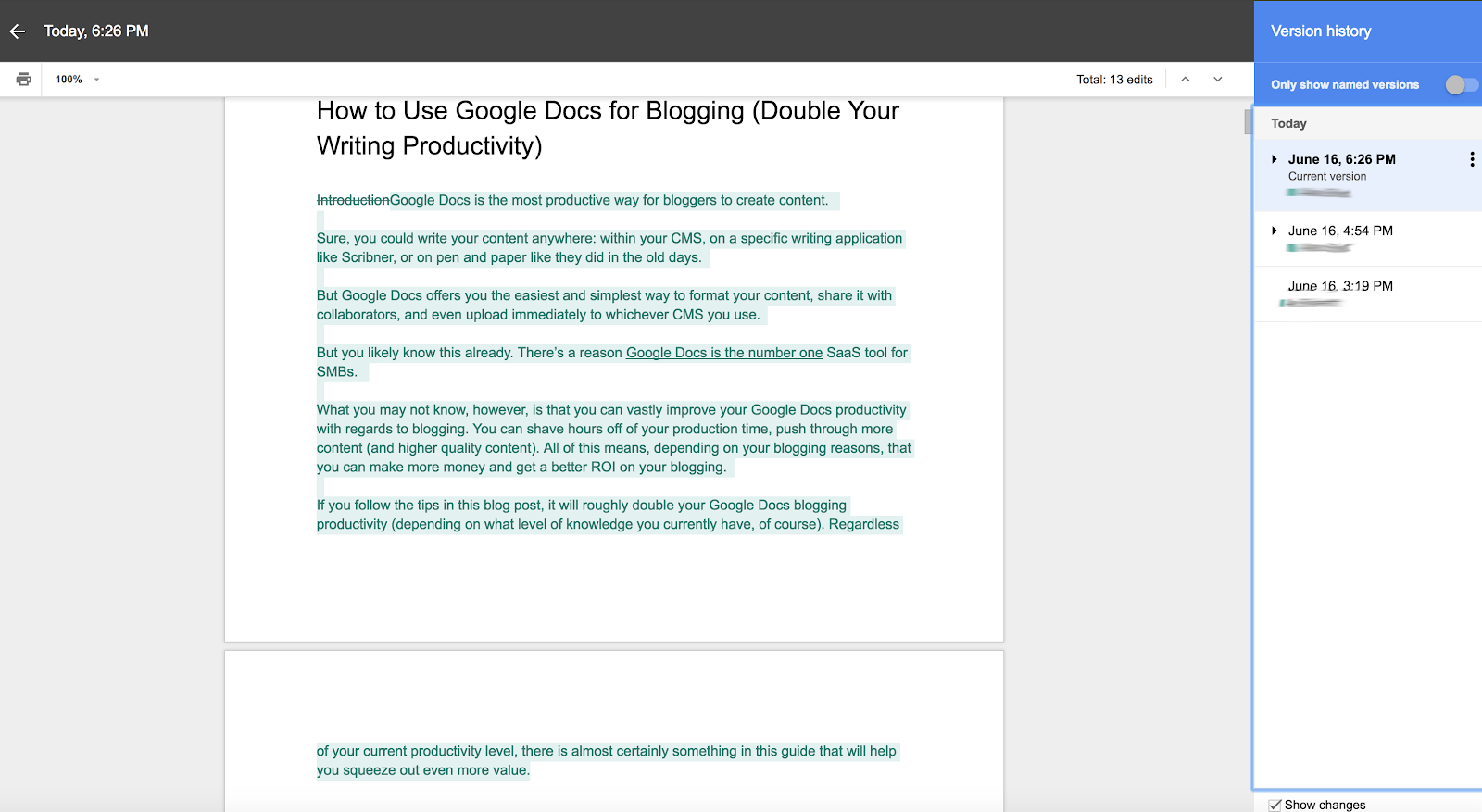 How to Use Google Docs for Blogging | Blog | Wordable io