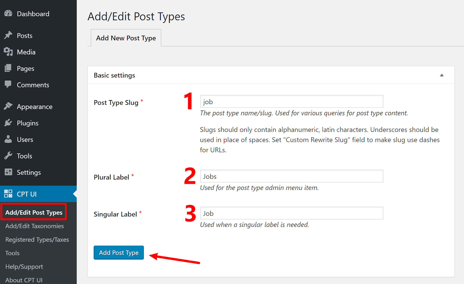 wordpress custom post type 1