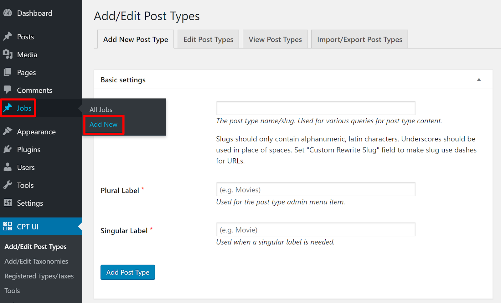 wordpress custom post type 2