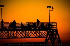 Sunset at Edgewater Pier