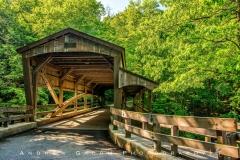 Covered Bridge in Millcreek Park