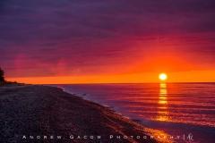 Sunset at Lake Superior
