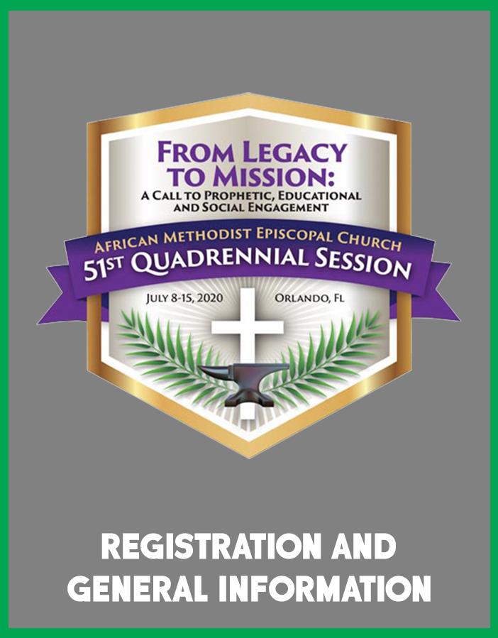 Registration, Lodging,