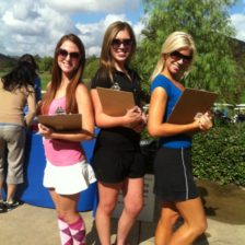 golf charity event staffing