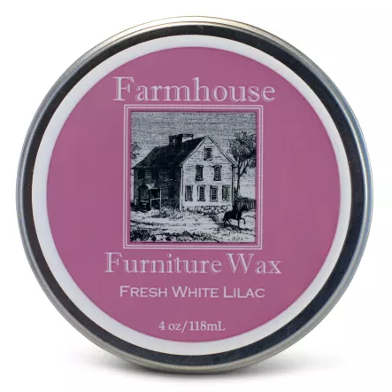 Farmhouse Fresh White Lilac Furniture Wax