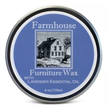 Farmhouse Lavender Furniture Wax