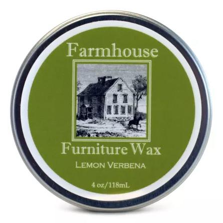 Farmhouse Lemon Verbena Furniture Wax