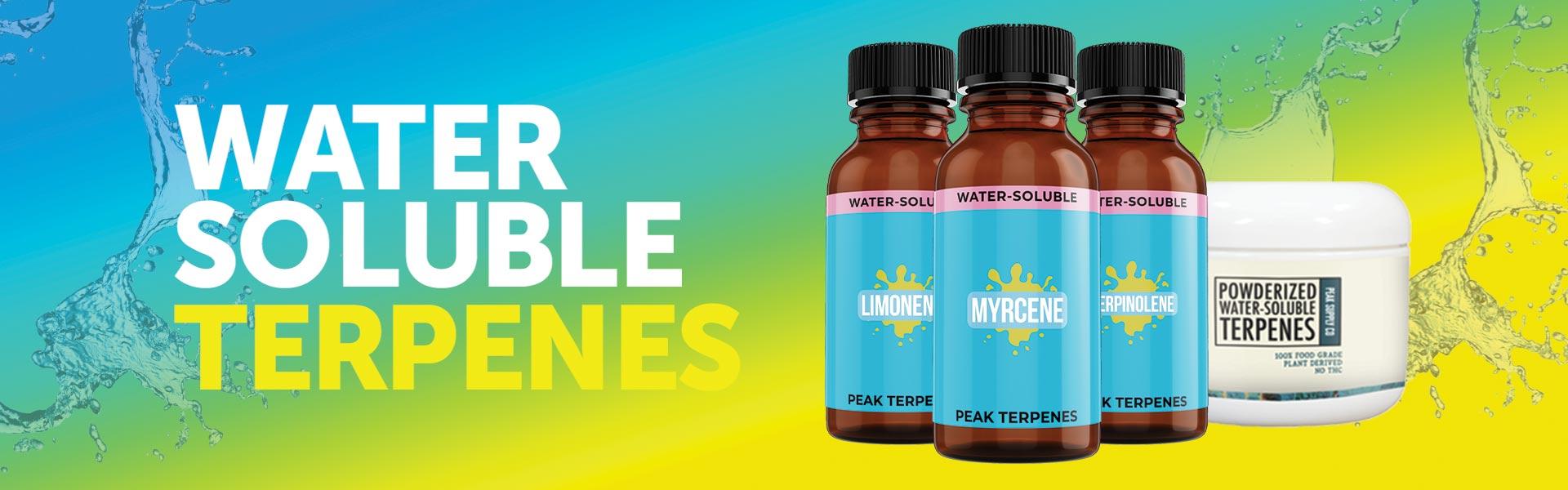 Water Soluble Terpenes