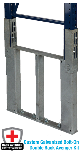 Pallet Rack Repair Kits Galvanized