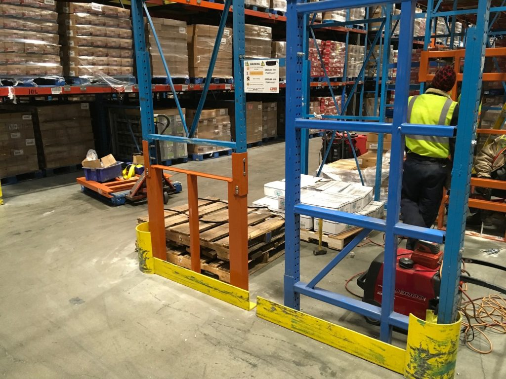 Custom Pallet Rack Repair Kit