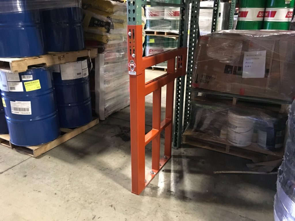Fully Adjustable Pallet Rack Repair Kit