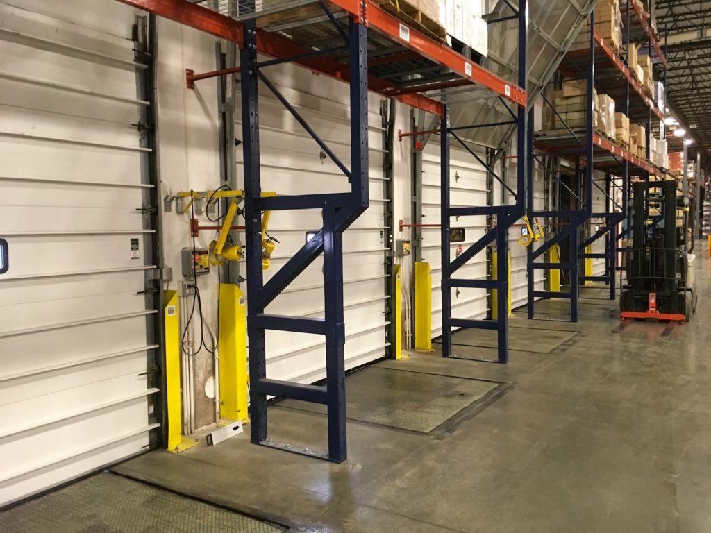 Custom Warehouse Pallet Rack Repair Kits