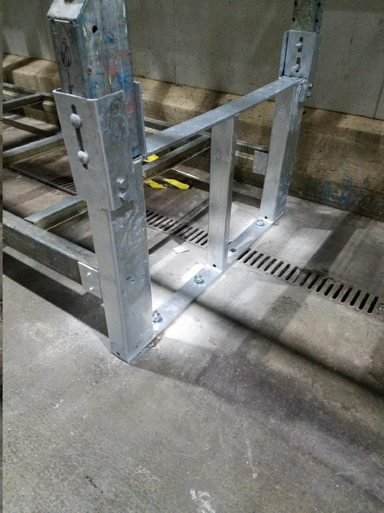 Galvanized Pallet Rack Repair Kit