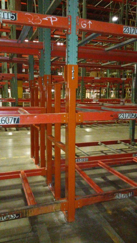 Custom Warehouse Pallet Rack Repair Kit