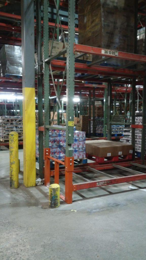 Warehouse Pallet Rack Repair Kit