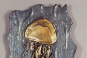 Bronze Jellyfish Relief