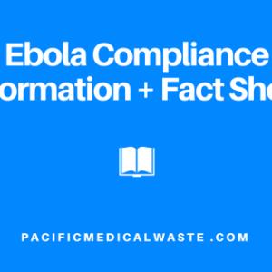 Ebola Compliance Information