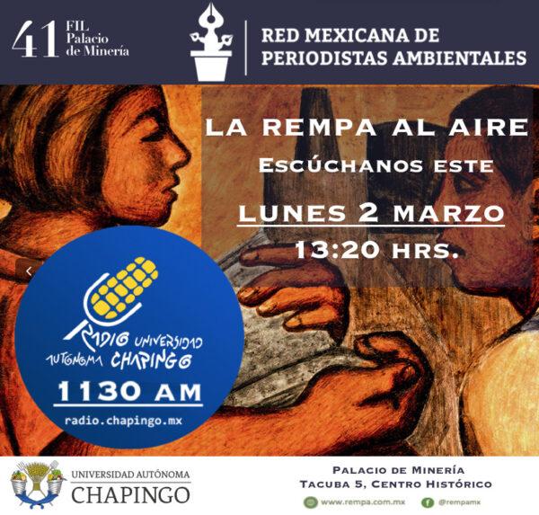 La REMPA en Radio Chapingo