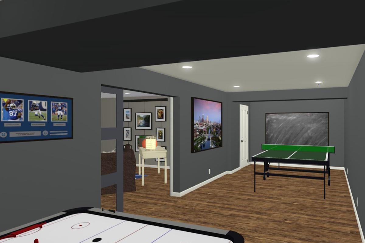 Rendering-Game-Room