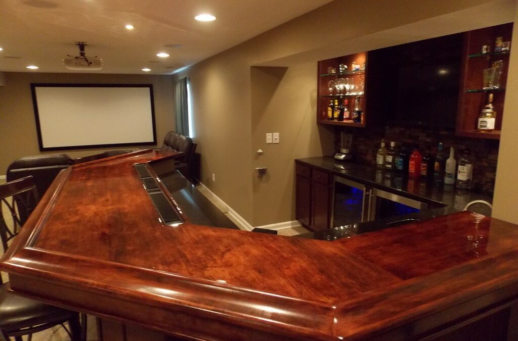 How to Transform Your Basement into the Best Bar in Town