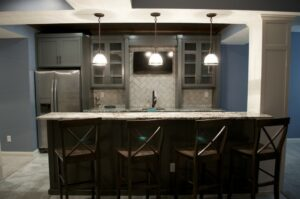 Basement Dining Bar