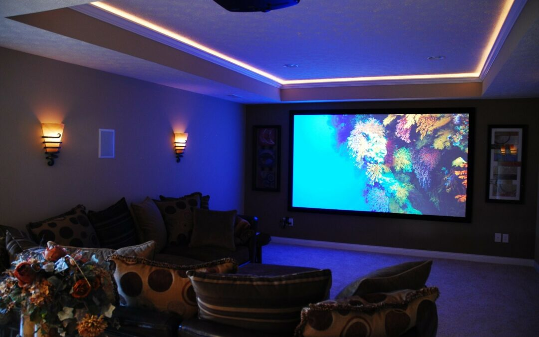 Why Install a Basement Home Theater?
